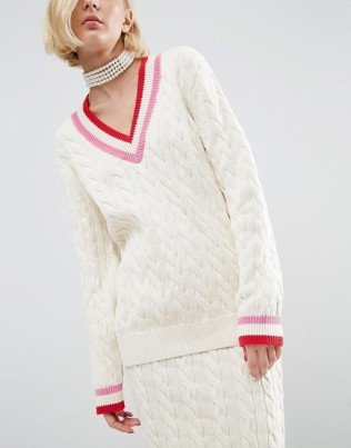 diana-wah-london-x-asos-cable-knit-cricket-jumper